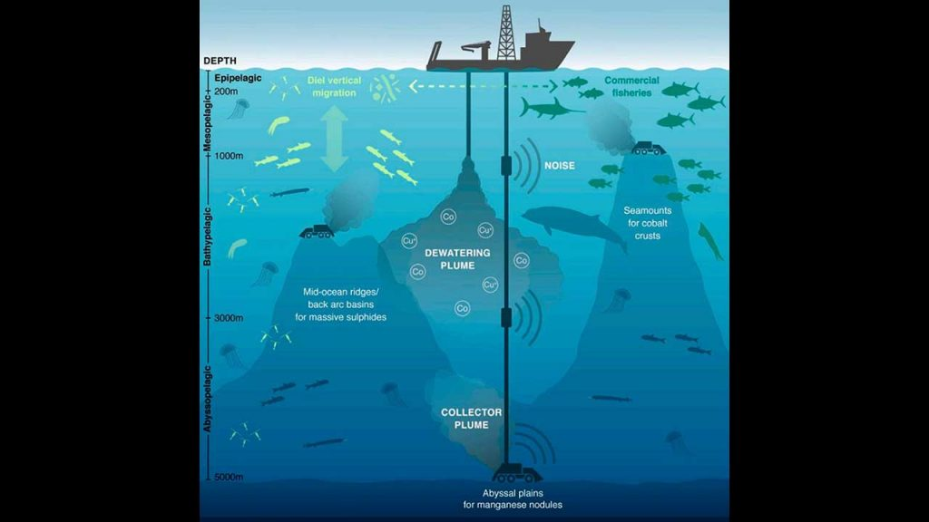 Environmental threats of seafloor mining to the Twilight Zone