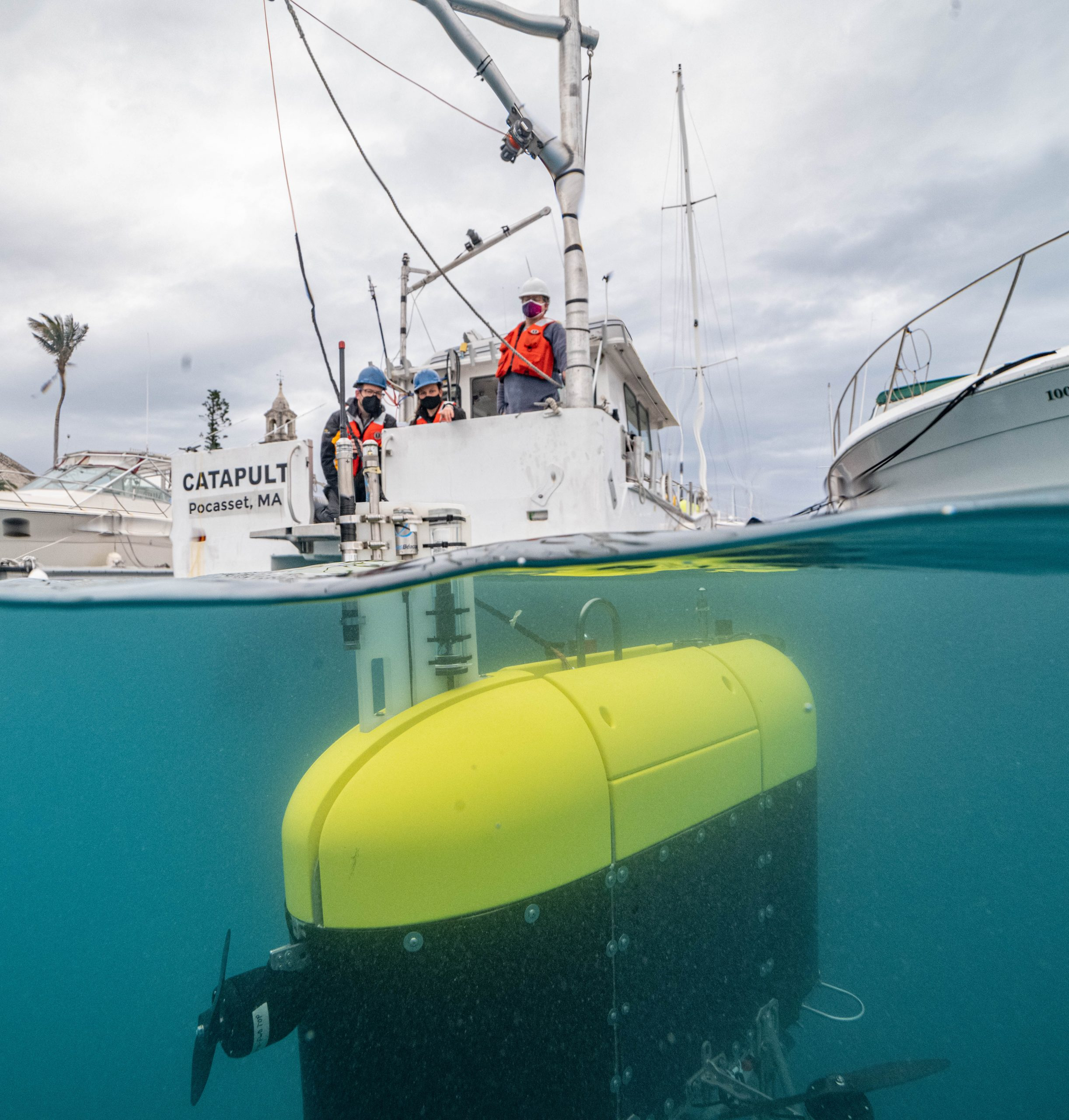 Swimming robot spies on creatures of the 'twilight zone'